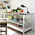 Recycler le lit à barreaux de bébé ?