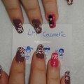 Nail art concours poupées kokeshi