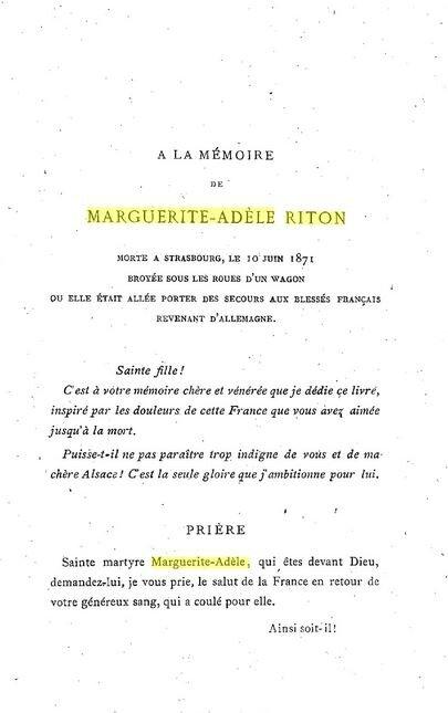 Adele Riton, hommage des prisonniers de guerre
