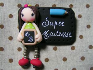 badge super maitresse