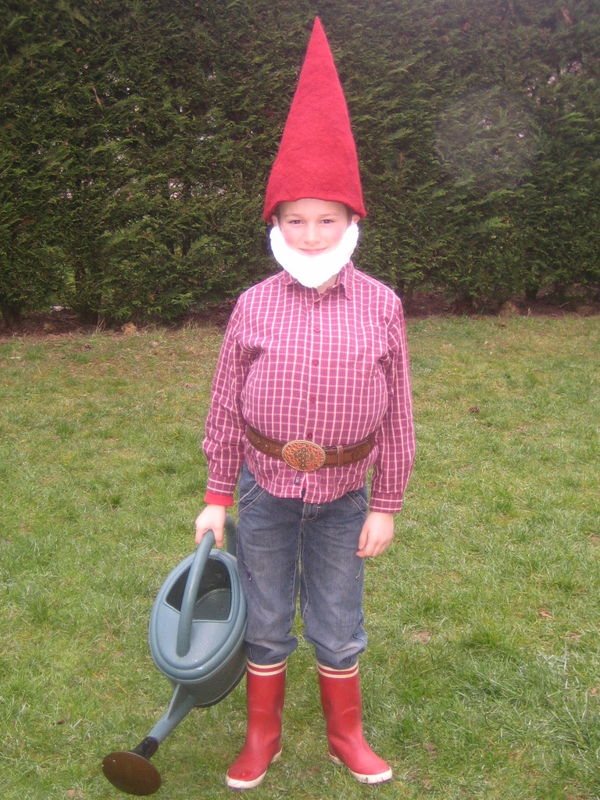 Carnaval petits pois et rayures for Acheter nain de jardin