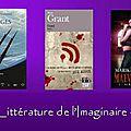 Challenge littérature de l'imaginaire