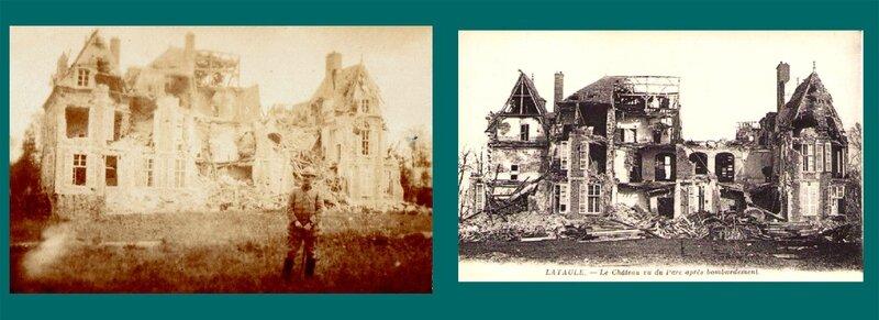 Lataule (Oise), le château
