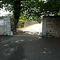 L'entrée du village Martyr