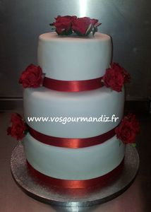 Wedding cake 3 étages