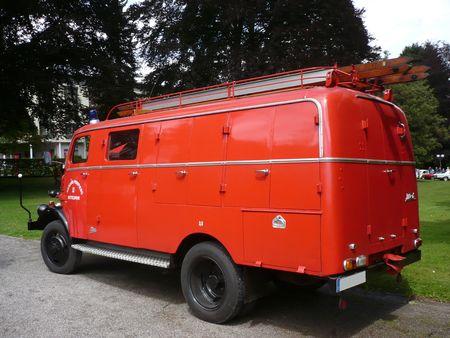 BORGWARD LF8 véhicule d'incendie carrossé par Metz 1960 Bad Herrenalb (2)