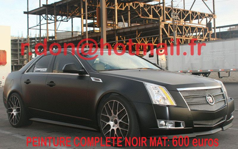 cadillac cts voiture mat prix peinture automobile. Black Bedroom Furniture Sets. Home Design Ideas