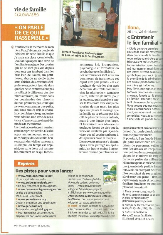 SCANNE ARTICLE LE PELERIN Avril 2015 3