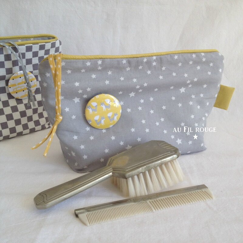 Trousse de toilette mister T and B