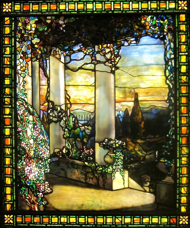 'Landscape_with_a_Greek_Temple'_by_Louis_Comfort_Tiffany,_c