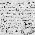 Raby Marie_Acte Baptême 1677_La Salle les Alpes