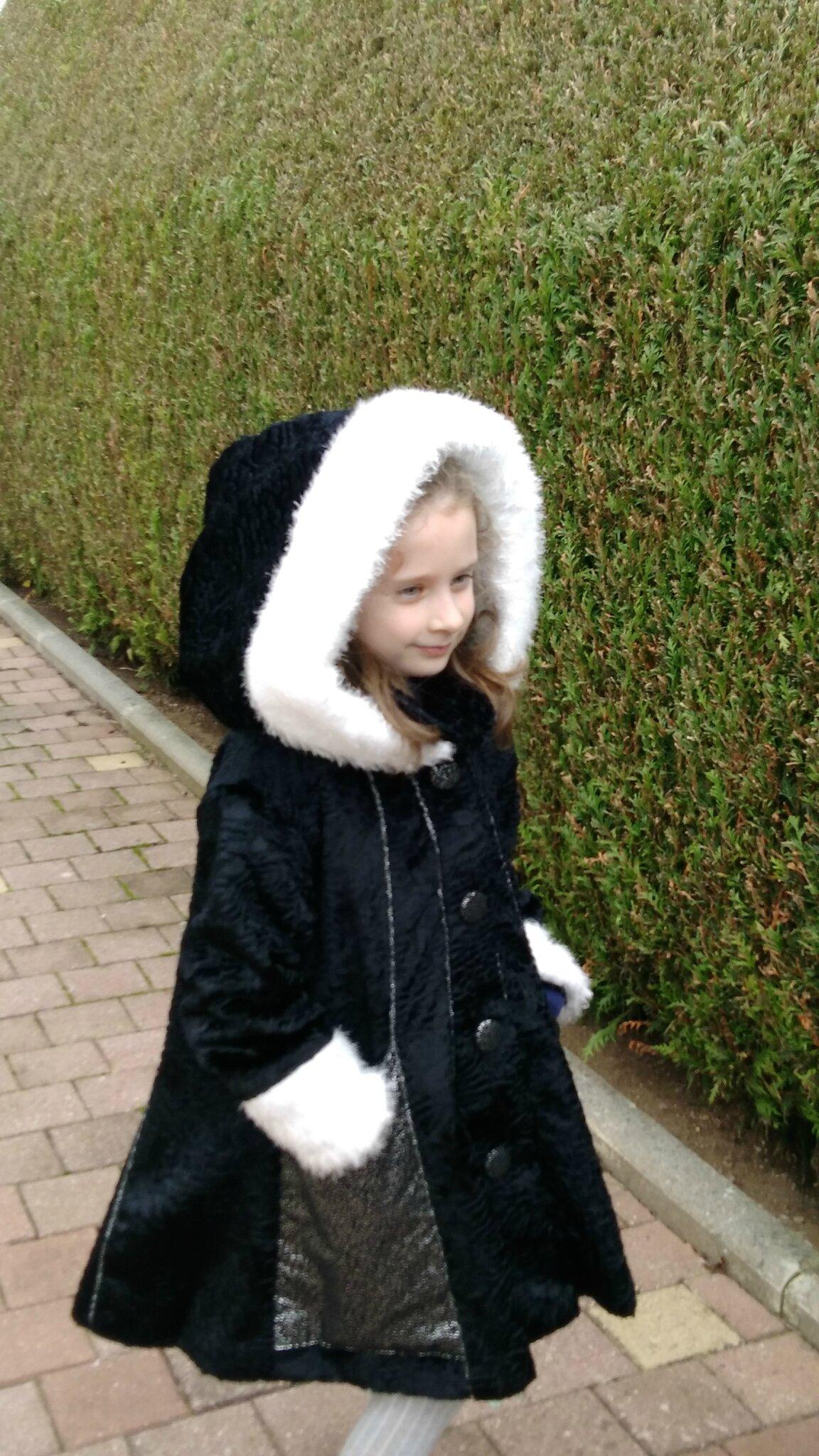 Manteau féerique.