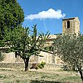 Vaugines, chapelle romane (84)
