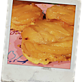 Petites tatins de poires à la fève tonka