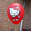 Anniversaire hello kitty de mlle m
