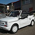 Fiat 126bis pop 650 cabriolet