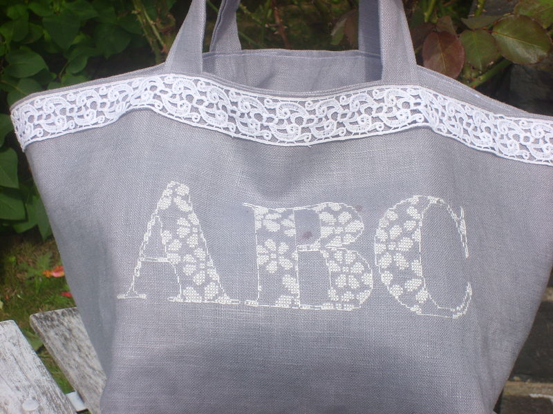 Sac gris modèle alice and co