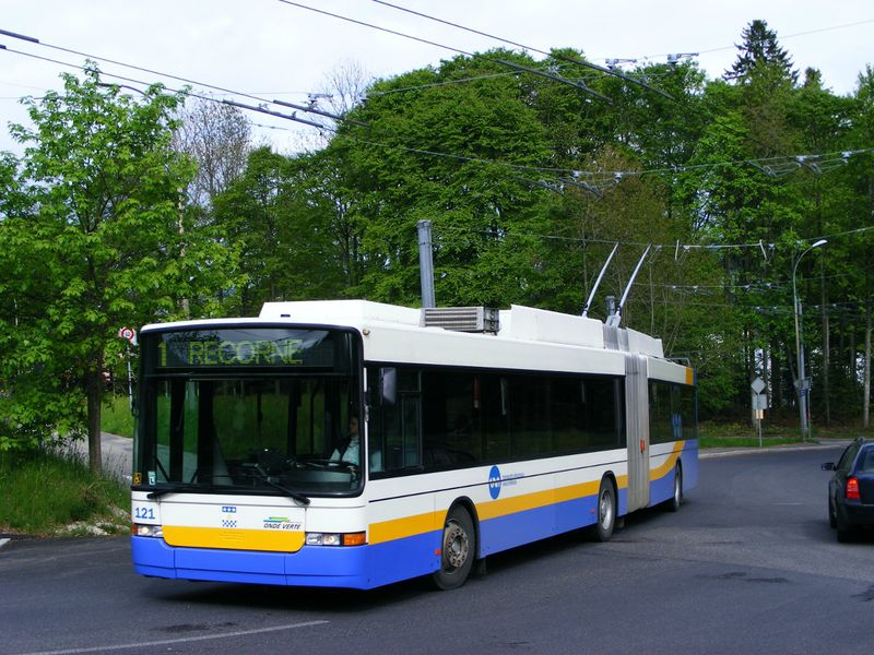 La chaux de fonds supprime ses trolleybus - Bus lyon nancy ...