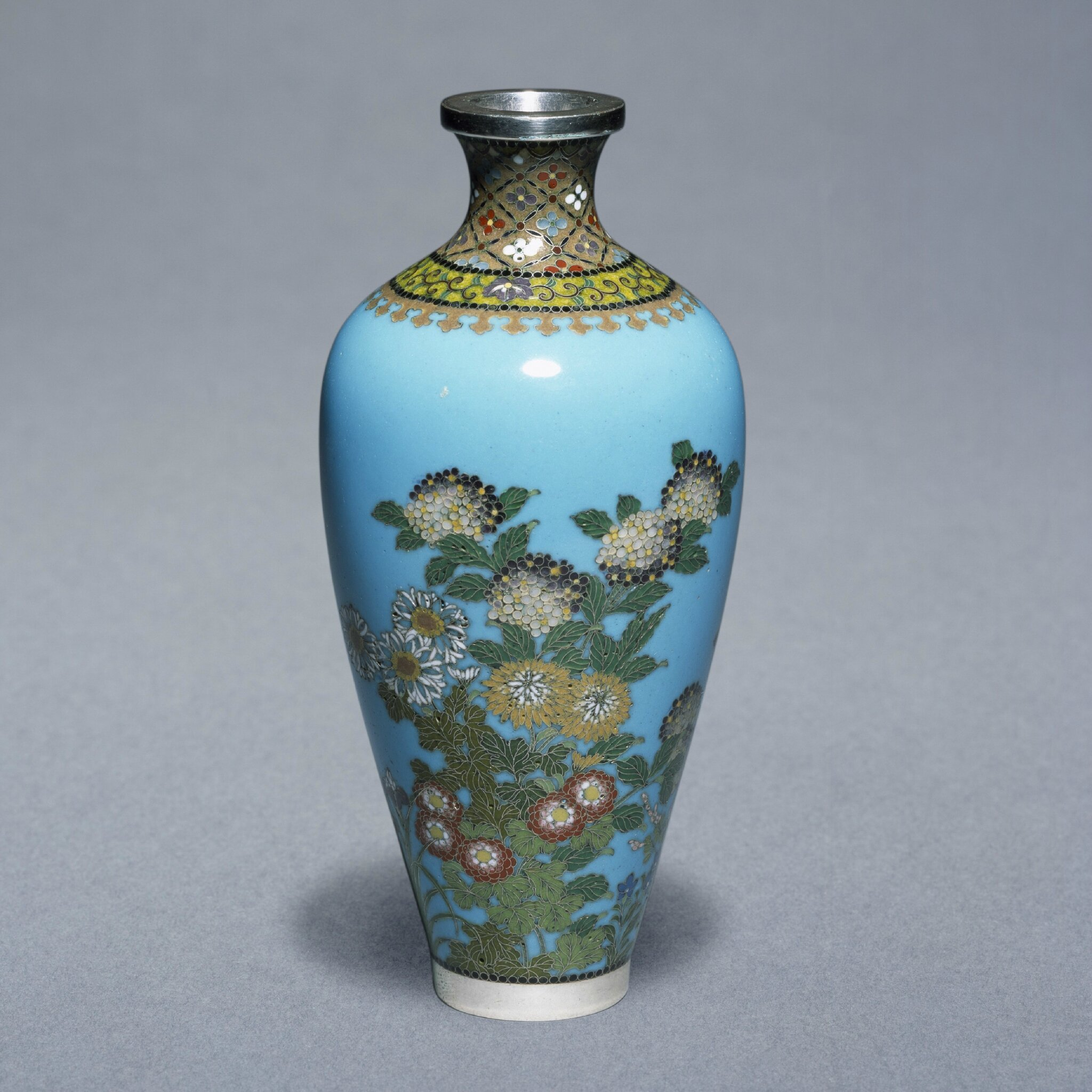 Japanese cloisonné enamels from the Victoria and Albert Museum on view at the Chester Beatty Library