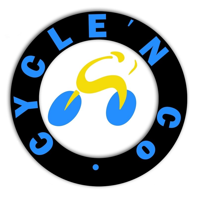 Logo cycle n co bleu