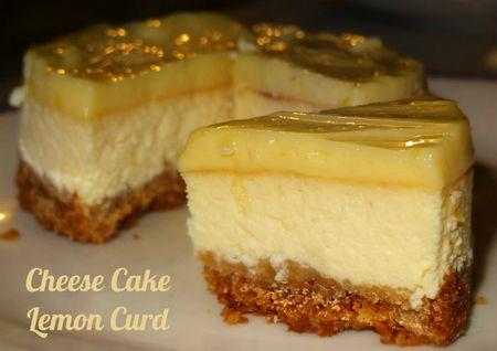 cheese cake lemon curd re