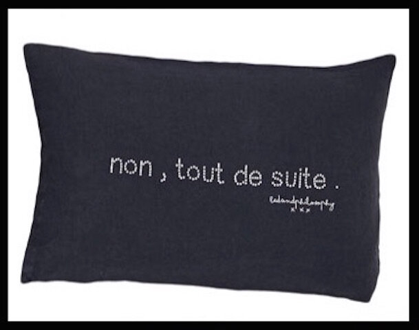 bed and philosophy coussin 2