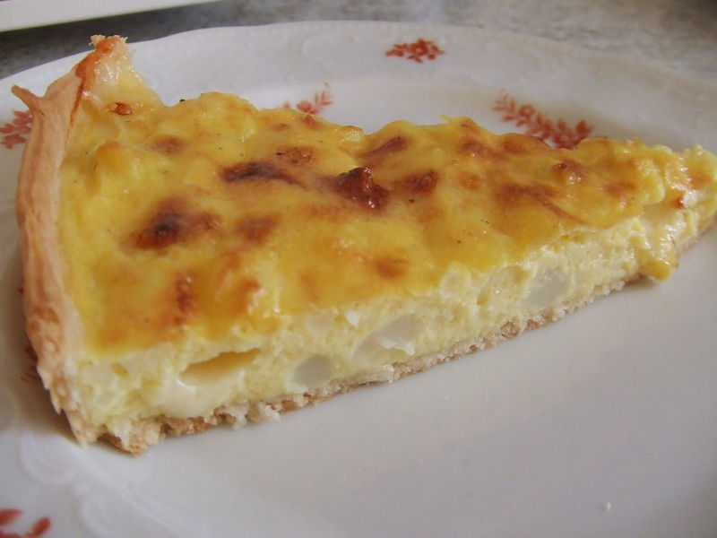 tarte fine au chou-fleur - un, deux, trois  petits plats !