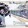 Avesnes sur helpe - cartes postales