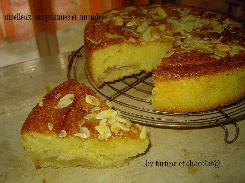 gateau aux pommes avec de la creme fraiche – les recettes