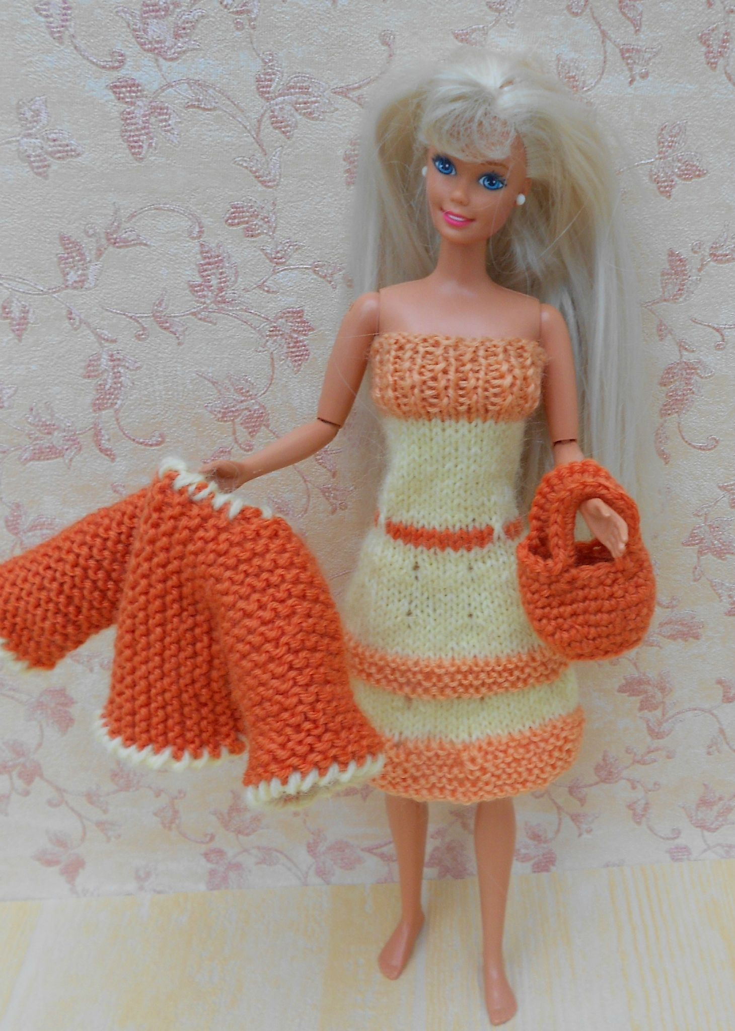 modele tricot gratuit barbie