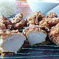 Beignets de poulet à la japonaise