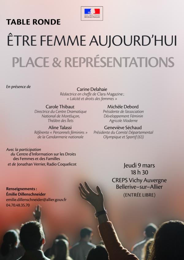 #FemmesdeFermes - #prenonslarue 8 mars 2017 Allier Journée internationale des droits des femmes avec @Dfam03allier