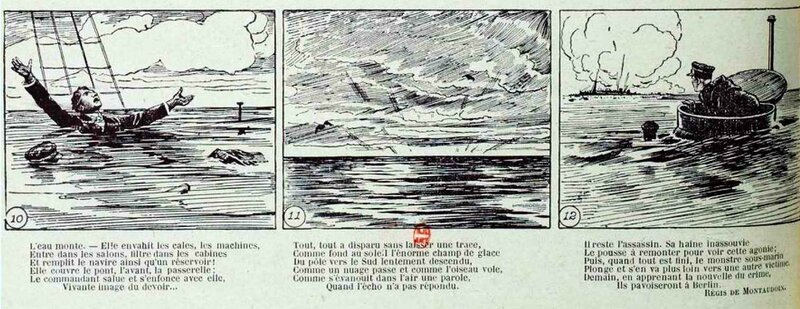 Lusitania s'abime dans les flots3