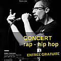 Concert rap hip-hop à paris