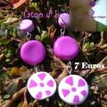 Boucles Miss Chipie : 7 Euros.VENDUES.