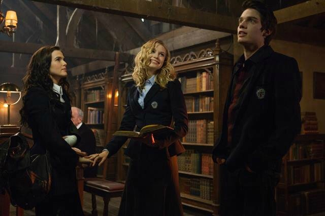 Rose, Lissa and Christian Vampire Academy movie