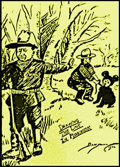 1902-dessin de Clifford Berryman