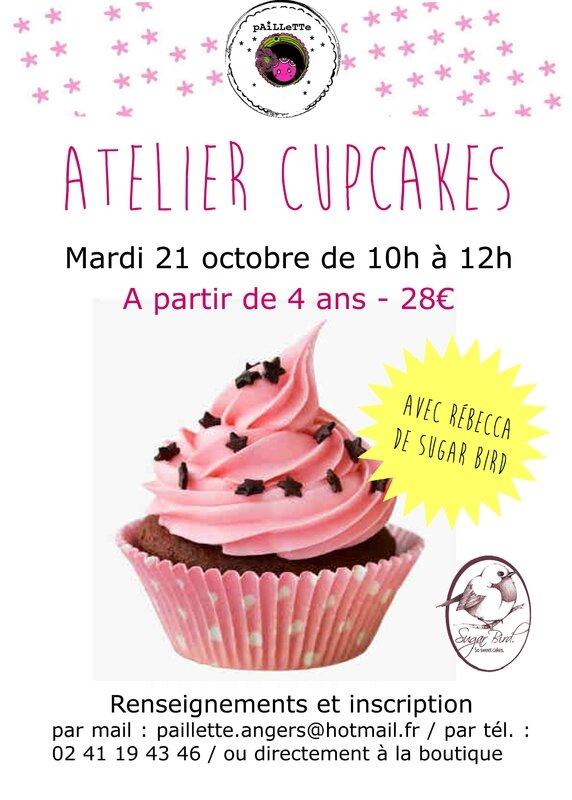 flyer cupcake
