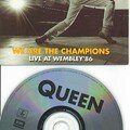Queen We are the champions cd's France