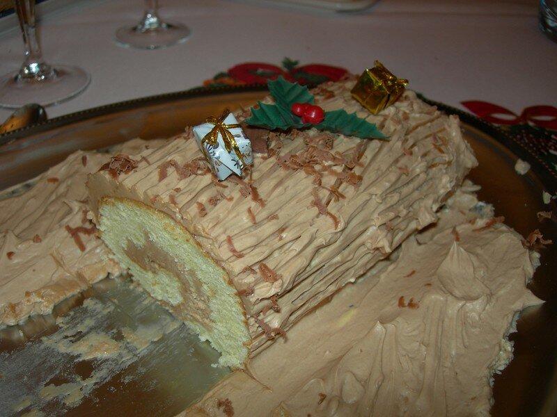 Ma première bûche, Noël 2006
