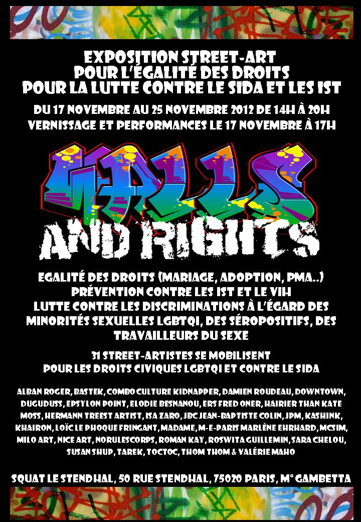 Walls And Rights, une exposition militante (W.A.R?)