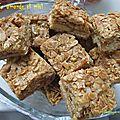 Carrés amande et miel / орехово-медовые квадратики