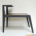 Petit mobilier ... table double plateau * laurette