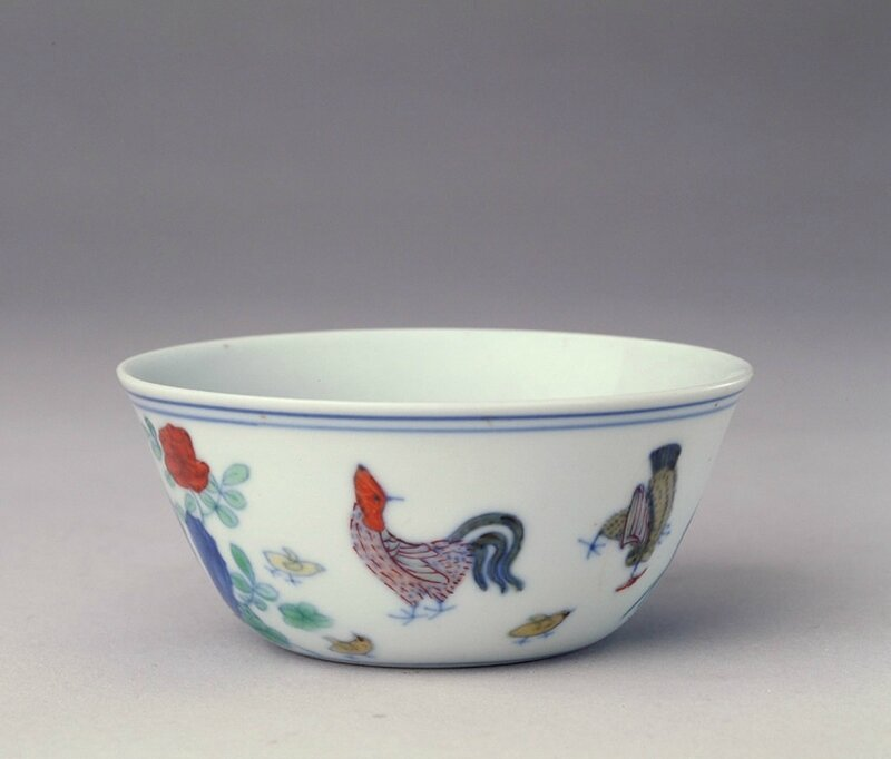 A chicken cup in the period of Emperor Chenhua