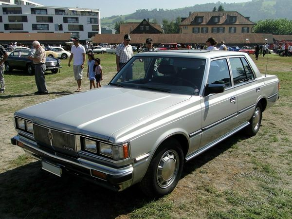 toyota crown 2,8i deluxe 1980 a