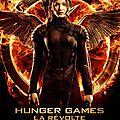 Nouvelle affiche de katniss (de face) dans hunger games 3 la révolte 1