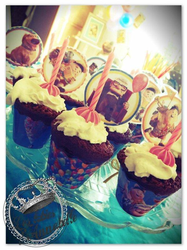 cupcake anniversaire theme la haut up pixar (Copier)
