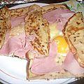 Crêpes façon galette bretonne