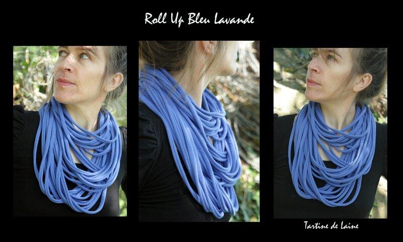 Roll Up Bleu Lavande