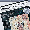 Publiée dans le magazine stampington 'the stamper's sampler' / i'm published in 'the stamper's sampler'!